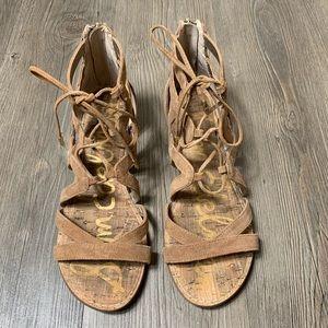 Sam Edelman Dawson lace up sandals